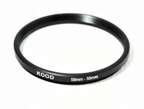 Stepping Ring 58-55mm 58mm to 55mm Step Down Ring Stepping Rings 58mm-55mm
